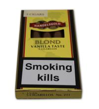 Handelsgold Flavoured Cigarillos Blond (Vanilla) – Pack of 5